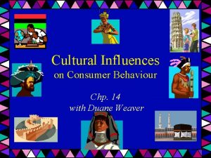 Cultural Influences on Consumer Behaviour Chp 14 with