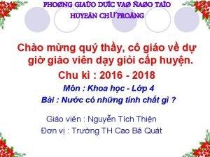 PHONG GIAO DUC VA AO TAO HUYEN CHPRO