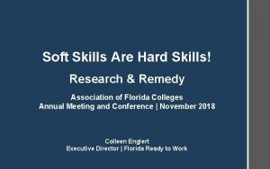 Soft Skills Are Hard Skills Research Remedy Association