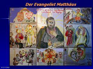 Der Evangelist Matthus G M Ehlert Der Evangelist