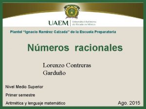 Plantel Ignacio Ramrez Calzada de la Escuela Preparatoria