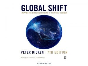 Peter Dicken 2015 Destroying Value Environmental Impacts of