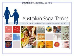 population ageing carers population ageing carers population ageing