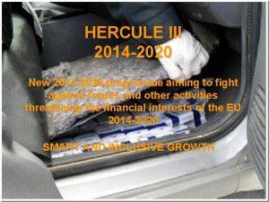 HERCULE III 2014 2020 New 2014 2020 programme