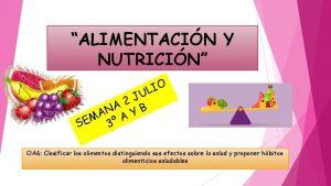 ALIMENTACIN Y NUTRICIN U J 2 A B