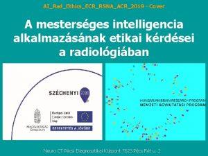 AIRadEthicsECRRSNAACR2019 Cover A mestersges intelligencia alkalmazsnak etikai krdsei