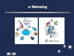eMarketing eMarketing l l Razvoj Interneta a posebno