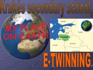 This is our school and school surroundings OUR