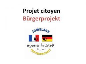 Projet citoyen Brgerprojekt Argences Source Google Maps Source