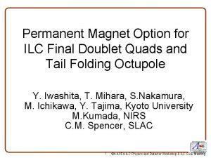Permanent Magnet Option for ILC Final Doublet Quads