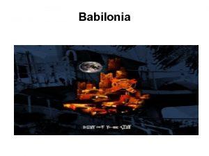 Babilonia Los Dos Reyes y Los Dos Laberintos