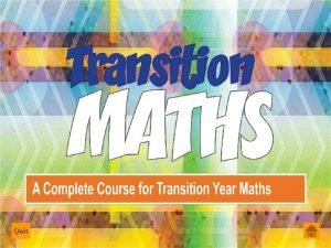 Quit 2 Dimensional graphs 3 Dimensional graphs Functions