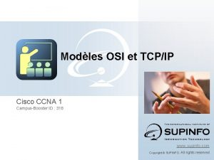 Modles OSI et TCPIP Cisco CCNA 1 CampusBooster