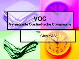 VOC Vereegnide Oostindische Compagnie Oleh YAS Pembentukan Belanda