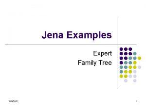 Jena Examples Expert Family Tree 1162020 1 Expert