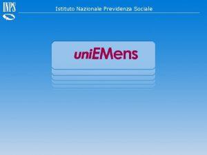 Denunce retributive e contributive individuali mensili Istituto Nazionale
