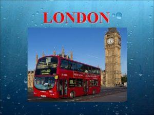 LONDON LONDON Londyn ang London miasto w poudniowowschodniej