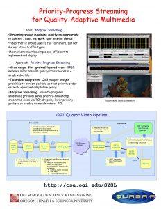 PriorityProgress Streaming for QualityAdaptive Multimedia Goal Adaptive Streaming
