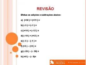 Resolva as equaes abaixo a 8 x 3