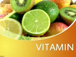 VITAMIN VITAMIN VITAMIN adalah suatu zat senyawa kompleks