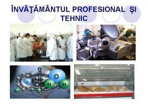 NVM NTUL PROFESIONAL I TEHNIC Formarea profesional urmrete
