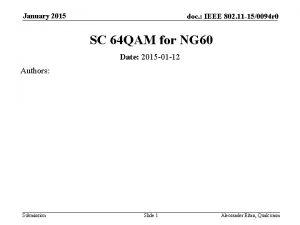 January 2015 doc IEEE 802 11 150094 r