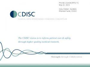 Ph USE CDASH 2 RFD TC May 31