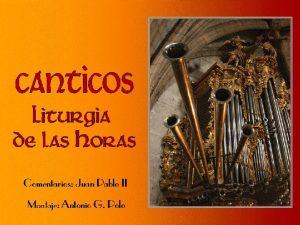 Recitamos este admirable himno cristolgico de la Carta