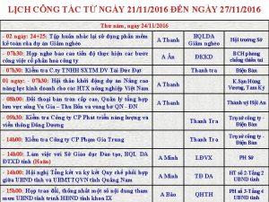 LCH CNG TC T NGY 21112016 N NGY