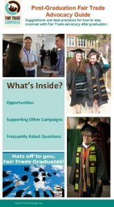 PostGraduation Fair Trade Advocacy Guide Suggestions and best