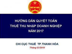 HNG DN QUYT TON THU THU NHP DOANH