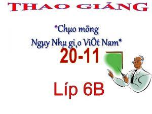 Cho mng Ngy Nh gio Vit Nam Cu