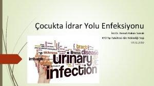 ocukta drar Yolu Enfeksiyonu nt Dr Kemal Atakan