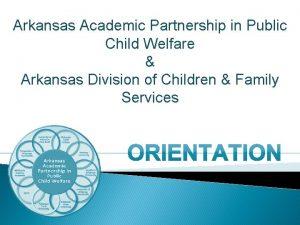 Arkansas Academic Partnership in Public Child Welfare Arkansas