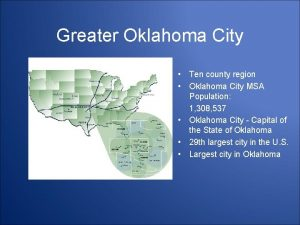 Greater Oklahoma City Ten county region Oklahoma City