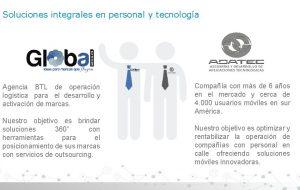 Soluciones integrales en personal y tecnologa Agencia BTL