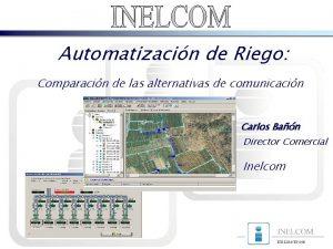 Automatizacin de Riego Comparacin de las alternativas de