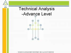 Technical Analysis Advance Level RESEARCH DEVELOPMENT DEPARTMENT MEX