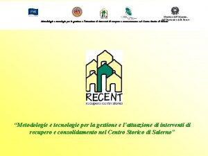 Ministero dellIstruzione dellUniversit e della Ricerca Metodologie e
