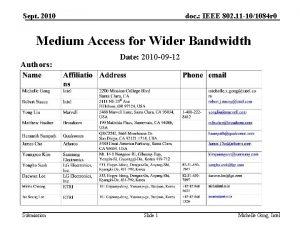 Sept 2010 doc IEEE 802 11 101084 r