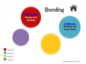 Bonding Bridge Building Bongos and Bonding Conductors Bonding