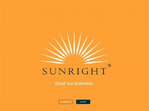 Smart sun protection EXIT START The Sun the