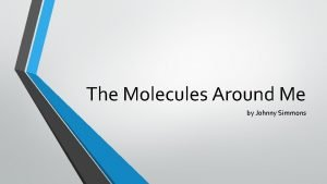 The Molecules Around Me by Johnny Simmons Mountain