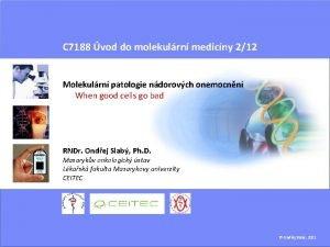 C 7188 vod do molekulrn medicny 212 Molekulrn