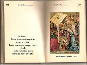 720 Desde Ronda con Amor Cuadernillo de Arte