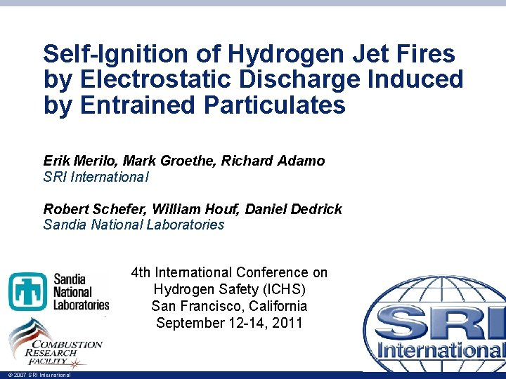 SelfIgnition of Hydrogen Jet Fires by Electrostatic Discharge