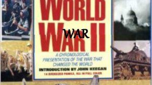 WAR Human Sins WAR War has been far