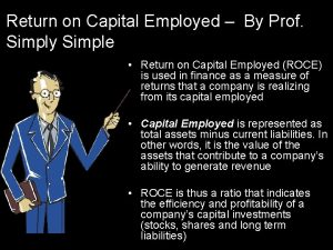 Return on Capital Employed By Prof Simply Simple