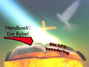Handboek Die Bybel yne anele ortrette rente yne