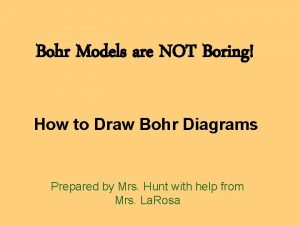 Bohr Models are NOT Boring How to Draw